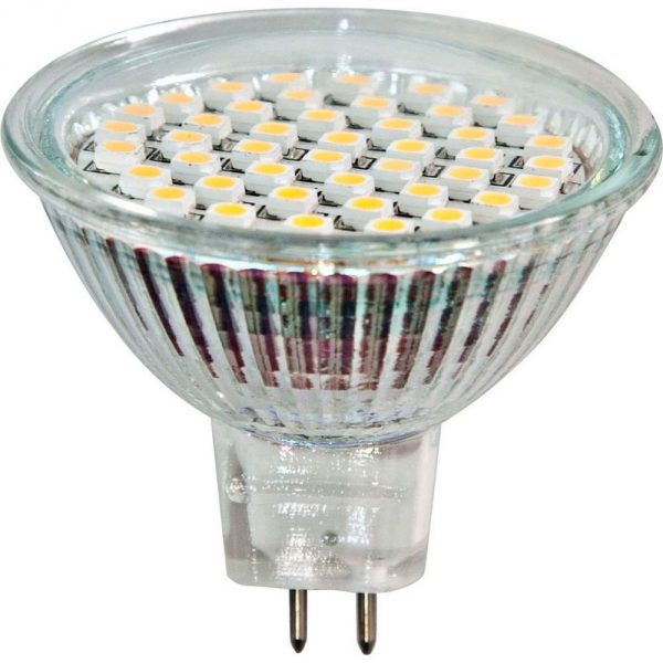 Лампа светодиодная LED 3вт 230в G5.3 белая (LB-24 44LED)